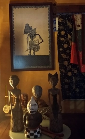 Symbols of some of the protectors of the house