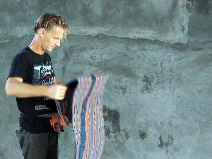 Stefan with cloth