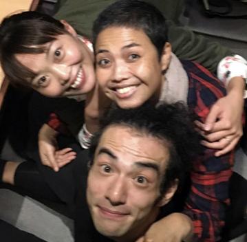 Lis, Kuriko Saito and Kanya Takeda, Tokyo 2016